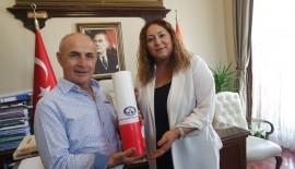 Hasan Akgün'den Gegeoğlu'na Ziyaret…