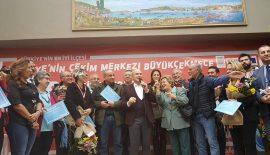 Türkiye Kupası 1. Ulusal Fotoğraf Yarışması ödül töreni Büyükçekmece'de yapıldı
