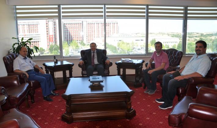 EGD Yönetiminden TÜ Rektörüne Ziyaret