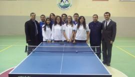 Fen Lisesi Masa Tenisi Turnuvası'nda Keşan'ı salladı