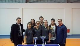 Keşan Lisesi idarecileri masa tenisi takımını tebrik etti…