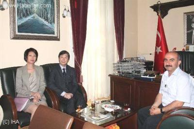 Japonya'nın İstanbul Başkonsolosu Edirne'yi ziyaret etti…
