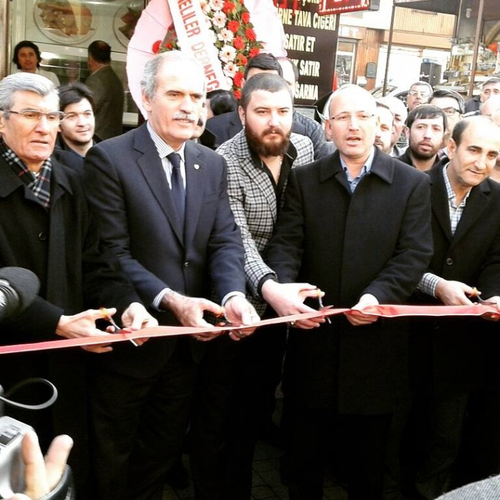Bekir Metin Bursa'da Edirne Ciğercisi açtı…