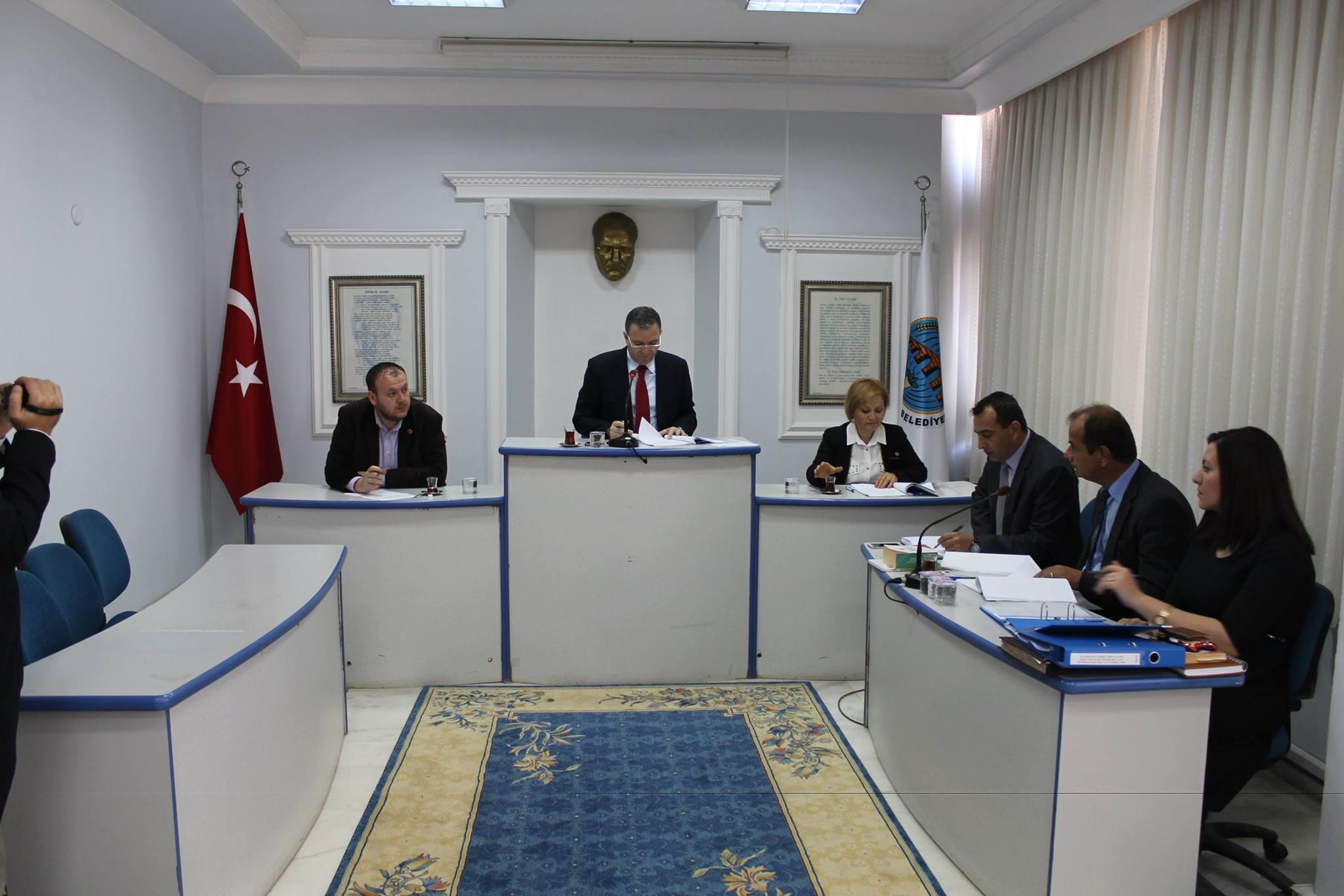 Orta Edirne Katı Atık Birliği Yönetimi Toplandı
