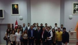 Uçağı Karadan Yürüten Adam Namık Kemal Üniversitesi'nde öğrencilerle buluştu