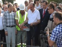 Sağlık Bakanı, Keşan'da Cami temel atma törenine katıldı