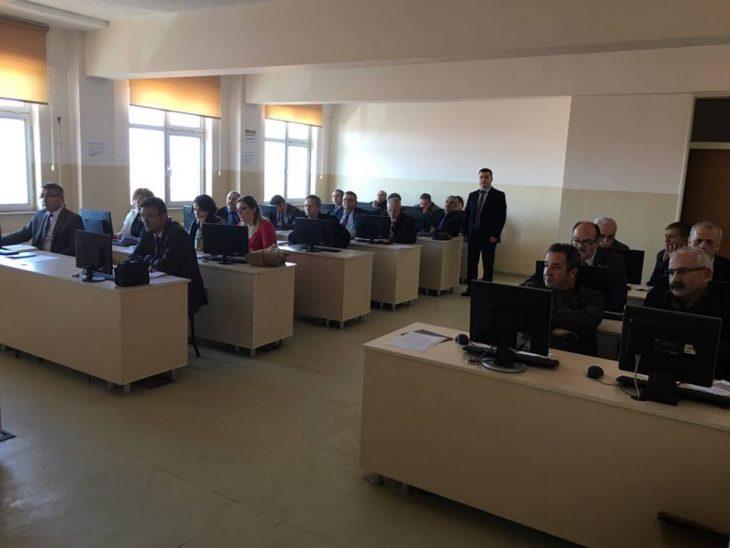 Okul Müdürleri ve Yöneticilerine DYS Sistemi Anlatıldı.