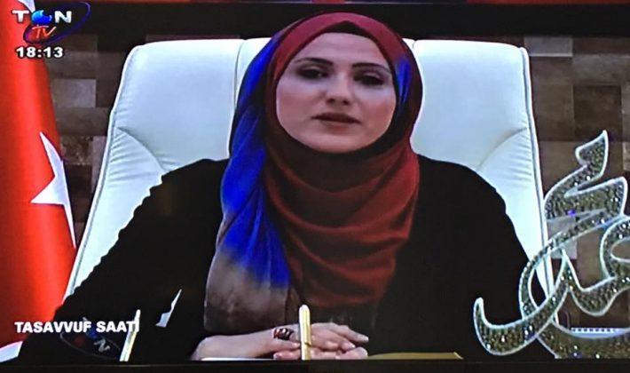 Saide Yapıcı Ton TV'de Tasavvuf Saati Adlı Programa Başladı.