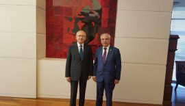 Özcan, Kılıçdaroğlu'nu Ziyaret Etti…