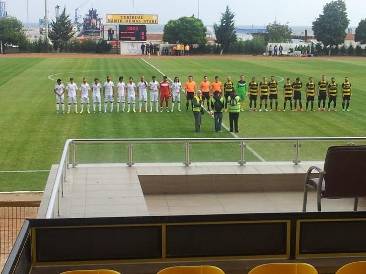 Anafartalarspor Tekirdağ'dan puansız dönüyor. 5-0