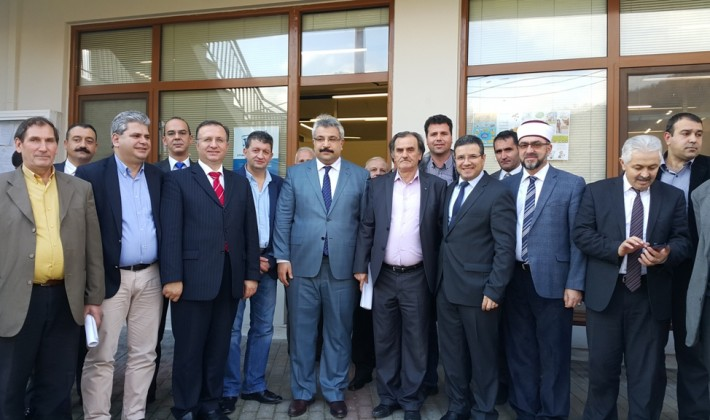 Dınkırcı'dan Gümülcine İskeçe'ye ziyaretler