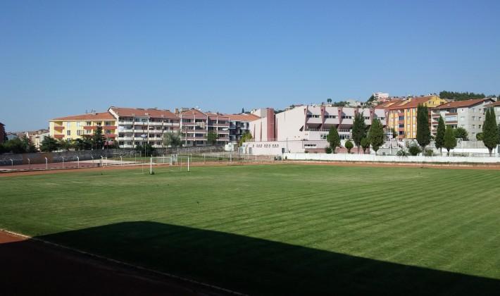 Keşan Belediyesi Spor Tesisleri yeni sezona hazırlanıyor