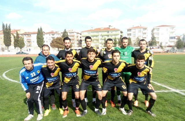 Anafartalarspor İpsalaspor'u 2-0 Yendi…