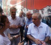 Özcan, Basının Sorularını Cevaplandırdı