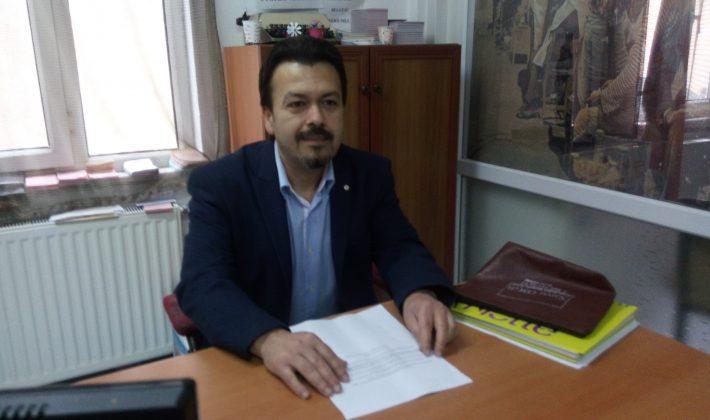 Salih Özkan adaylığını açıkladı.