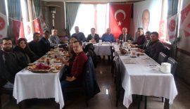 MHP Keşan İlçe Başkanlığı'ndan Basına Kahvaltı ve Basın Açıklaması…