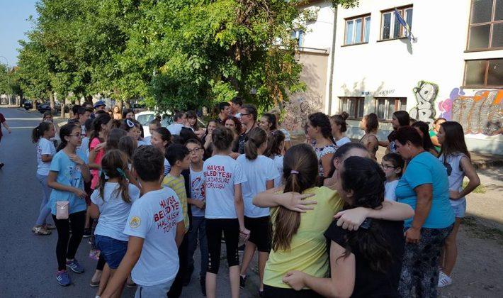 Havsa Belediyesi Halk Oyunları Ekibi Bosna Hersek'te