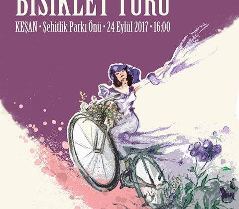 Süslü Kadınlar Bisiklet Turu 24 Eylül'de Keşan'da ….