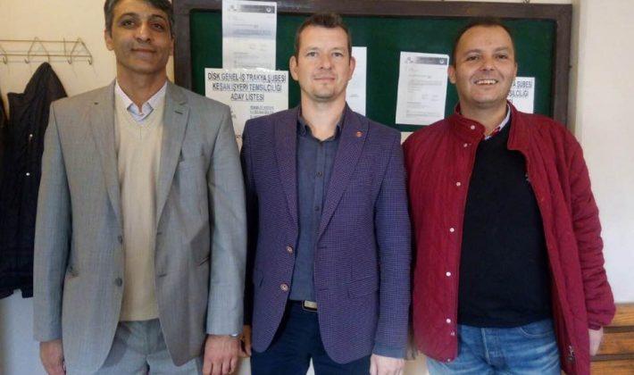 DİSK Genel İş Temsilciliği'nin Seçimi 2 Kasım'da yapıldı.