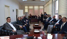 CHP İZMİR MİLLETVEKİLİ ÖZCAN PURÇU'DAN BELEDİYE BAŞKANI ULAŞ YURDAKUL'A ZİYARET