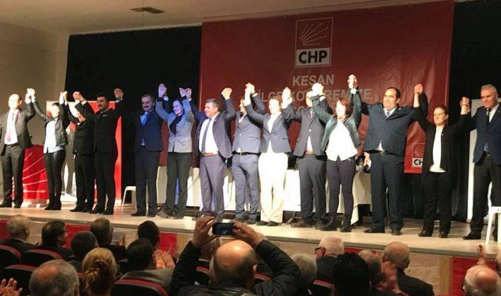 CHP Keşan İlçe Başkanlığı'nda Bir Kez Daha Gümülcineli Dönemi Başladı…