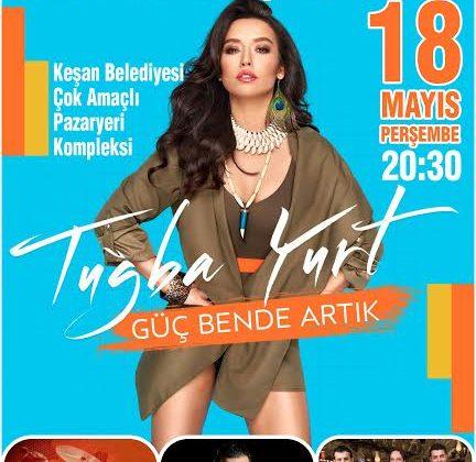 Keşan Belediyesi Gençlik Konseri 18 Mayıs 'ta Yapılacak