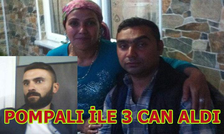 Edirne'de Pompalı dehşeti.Aynı aileden 3 kişi öldürüldü