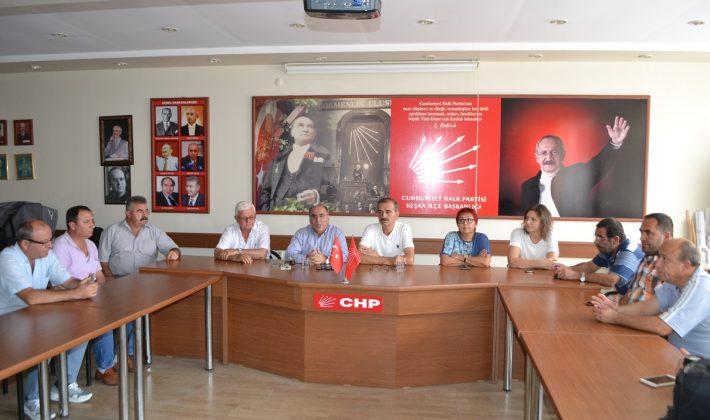 CHP Keşan İlçe Yönetimi ve Bircan, Ülke Gündemini Değerlendirdi…
