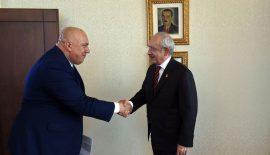 Kılıçdaroğlu, Pekcanlı'yı Kutladı…