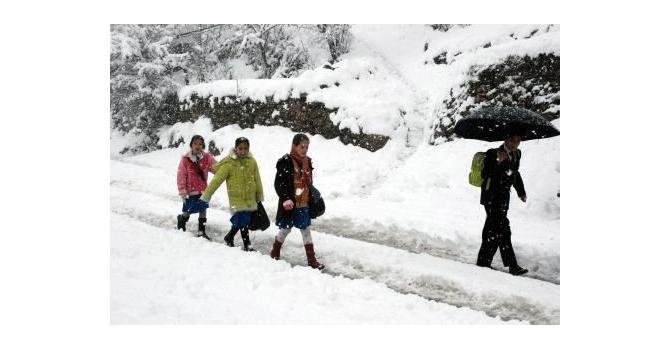 4 Ocak'ta Okullar 1 Gün Tatil Edildi…
