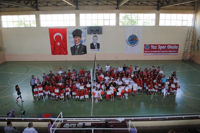 Uzunköprü'de Yaz Spor Okulu Sevinci