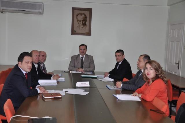 Keşan Çeltik Komisyonu toplandı