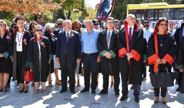 Başkan Eşkinat adli yıl açılış törenine katıldı