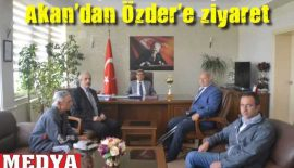 Keşan İdmanyurdu Kulübü'nden Kaymakam Nuri Özder'e Ziyaret
