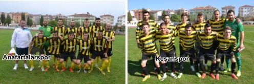 Anafartalarspor Kozlu deplasmanında, Keşanspor Keşan'da galibiyet için sahaya çıkacaklar