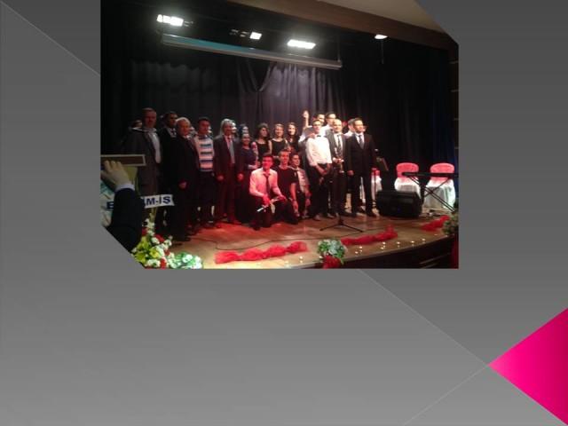 Keşan Anadolu Öğretmen Lisesi Şiir Gecesi düzenledi.