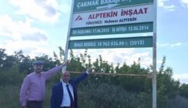 Erdin Bircan'dan ilk önerge yine Çakmak Barajına