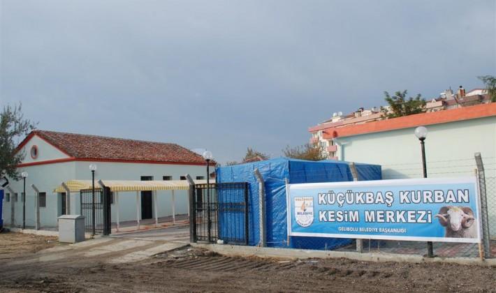 Gelibolu'da Kurban Satış yerleri hazır