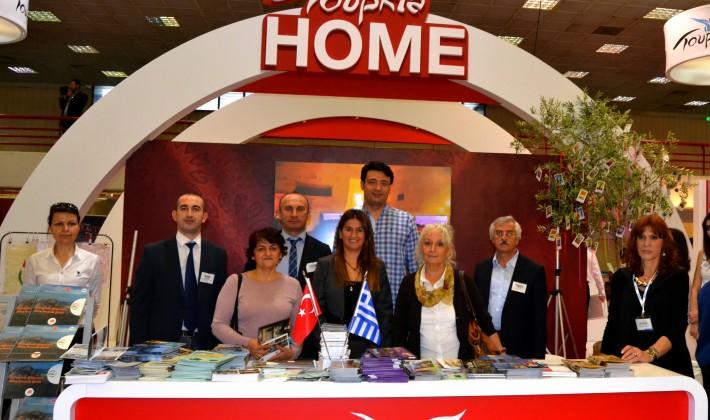 Edirne Selanik Turizm Fuarı'nda tanıtıldı…