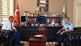 Emniyet Müdürü'nden Yurdakul'a Ziyaret