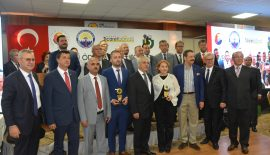 Rıfat Hisarcıklıoğlu, Keşan'da Vergi Rekortmenleri Ödül Törenine Katıldı.