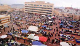 Keşan'da alışveriş anlamında milat  Pazaryeri Kompleksi'nde ilk pazar kuruldu