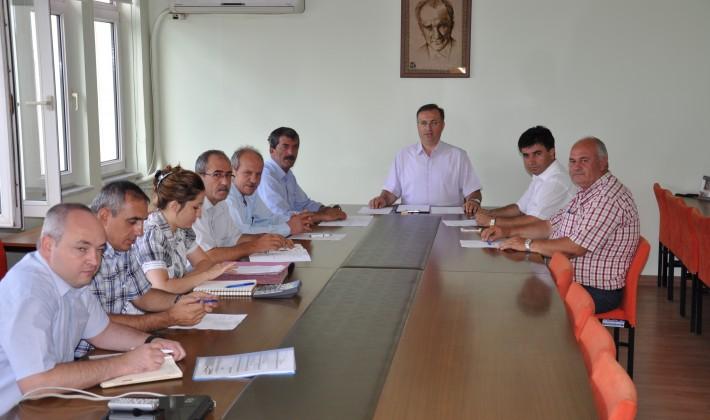 Köylere Hizmet Götürme Birliği Encümeni toplandı