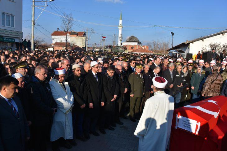 Elbab Şehidimiz Hayrabolu'da Toprağa Verildi…