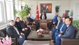 CHP Yönetiminden Keşan Kaymakamı Nuri Özder'e Ziyaret…