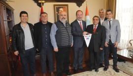 Charitidou ve Gürkan'ı ziyaret ettiler