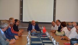 Ram Trakya Belediyeler Birliği ekibi Başkan Eşkinat'ı ziyaret etti