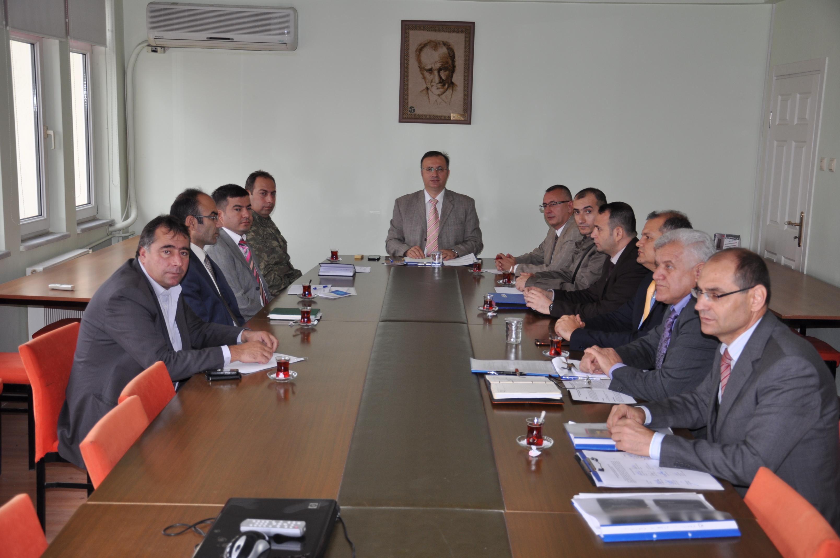 10 Kasım ve 19 Kasım için komisyon toplandı