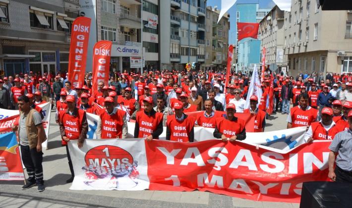 Uzunköprü'de 1 Mayıs Coşkusu…(Videolu Haber)