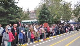 Keşan'da Cumhuriyet Bayramı coşkusu (VİDEOLU HABER)